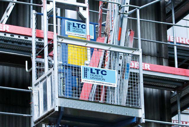 LTC Hosts Division | Rack and Pinion hoist | Geda hoist